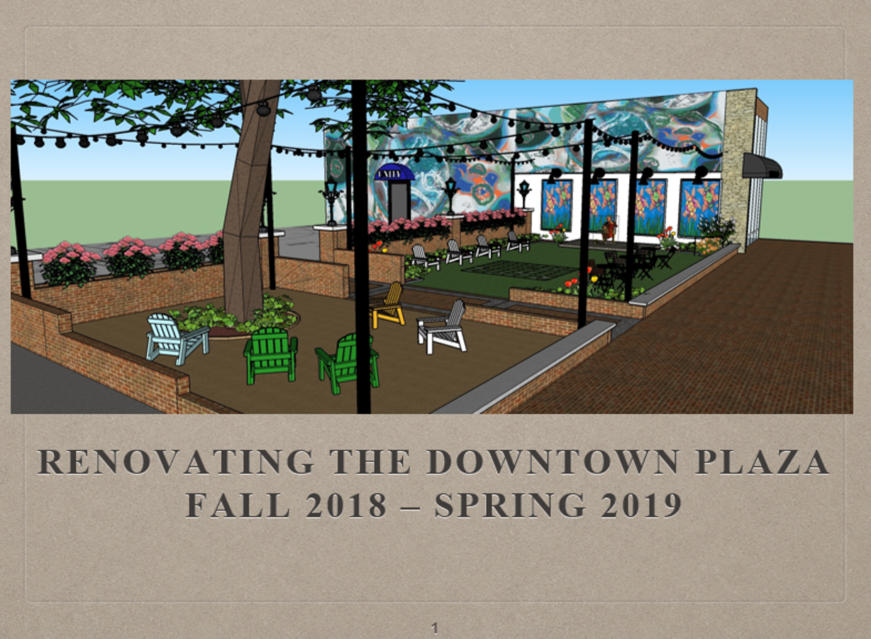 Downtown Plaza PPT Cover